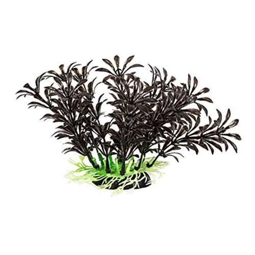 Simulation Plant Ornaments Climbing Pet Terrarium Landscaping Green Fish Tank Aquatic Plant Decoration Supplies,D
