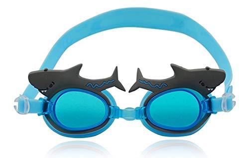 SWJJ Gafas natación niños Soft Seal Protección