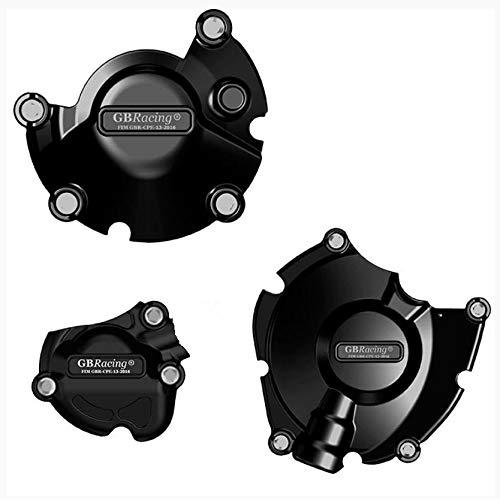 Juego protectores motor homologados por FIM compatible para Yamaha YZF-R1 YZF-R1M 2015-2020