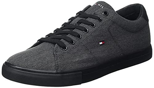 Tommy Hilfiger Herren Jay 25D Sneaker, Black, 43 EU