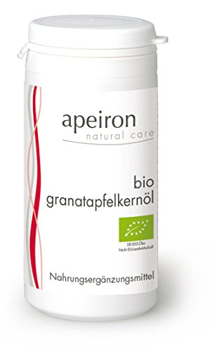 Apeiron Bio Granatapfelkernöl Kapseln 60 Stk.
