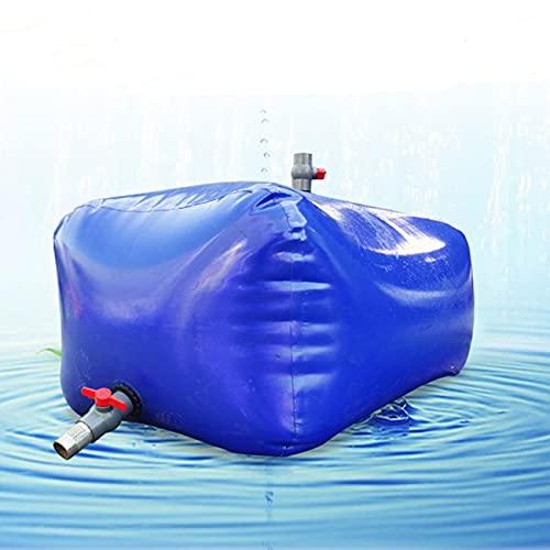 HAIT Vejiga de Agua Portátil a Prueba de Humedad, Tanque de Agua de Emergencia Móvil Portátil con Alta Capacidad, PVC Tanque de Agua de Emergencia para Almacenamiento De Agua Potable