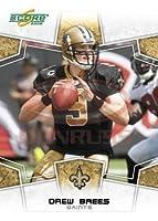 2008 Score Football Card # 192 Drew Brees QB - New Orleans Saints - NFL Trading Card