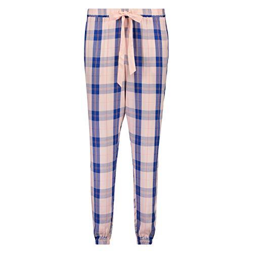 HUNKEMÖLLER Pyjamahose Check Rose XL