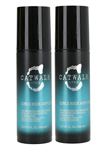 Tigi - Catwalk Curlesque Curls Rock Amplifier Duo Halt und Kontrolle für definierte Locken - 2 X 150 ml