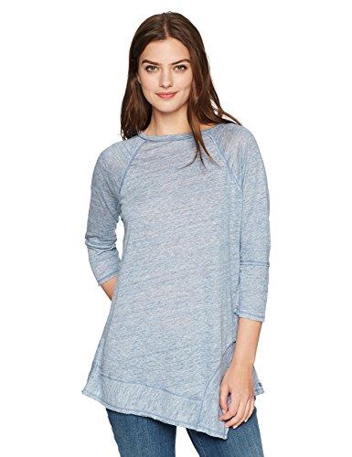 Neon Buddha Women's Standard Nassau Top, Slate Blue, Medium