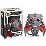 Drogon: Game of Thrones x Funko POP! Vinyl Figure & 1 POP! Compatible PET Plastic Graphical Protector Bundle [#016 / 03873 - B]