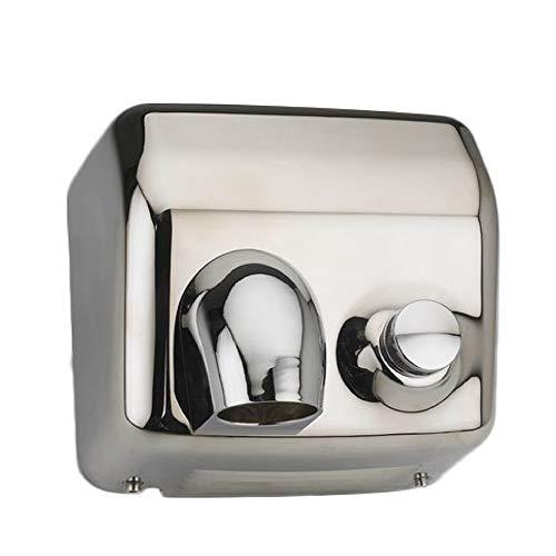 ClimaSpain Asciugamani Elettrico Manuale da Parete in Acciaio Inox · Asciugamani Elettrico da Bagno con Potenza...