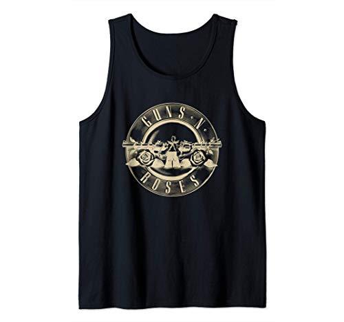 Guns N' Roses Reverse Logo Tank Top, Black, Men and WOmen's Sizes up to 2XL