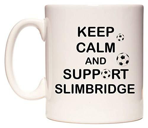 Keep Calm And Support Slimbridge Tazza di WeDoMugs