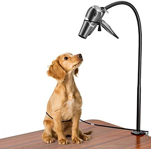 CROWNY Dog Pet Grooming Table Hair Dryer Stand Holder Hands Hands free Dryer Holder Arm Table product image