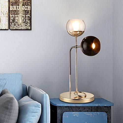 MGWA Lámpara de Mesa Sala De Estar Posmoderna Sofá Lámpara De Mesa De Café Dormitorio Mesita De Noche Dormitorio Lámpara De Mesa Simple