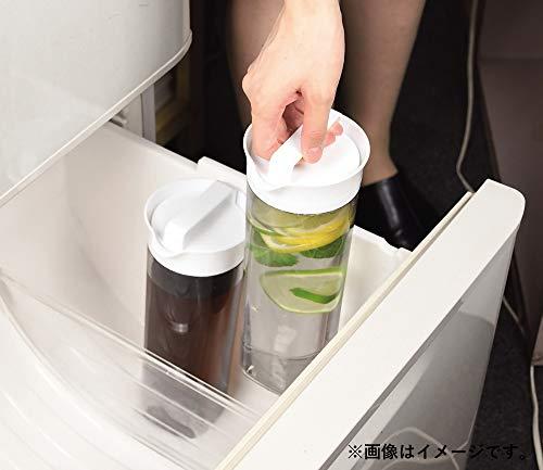 パール金属冷水筒ブラック1.1Lスリム冷水ポットクールフリーHB-4326