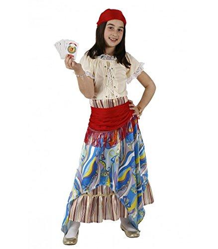 Carnaval Disfraz pitonisa 3-4