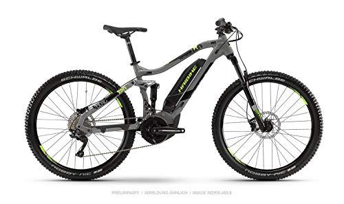 HAIBIKE Sduro FullSeven 4.0 27.5'' Pedelec E-Bike MTB grau/schwarz/grün 2019: Größe: XL