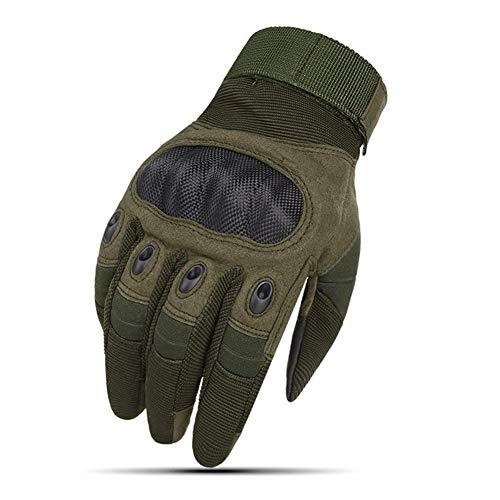 Mcttui Taktische Handschuhe Airsoft Handschuhe Männer, Männer Taktische Handschuhe Militär Touch Screen Airsoft Handschuhe Armee Paintball Schießen Kampfausrüstung Rüstung Schutz Shell Handschuhe