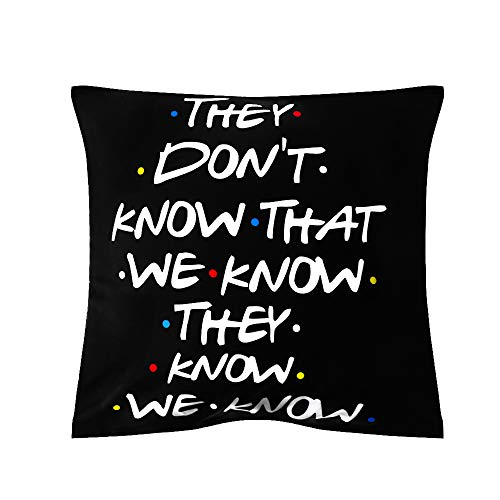 mntcher Classic Printed Polyester Sofa Cushion Cover Friends TV Show Pillow Covers Pillow Cases(7)