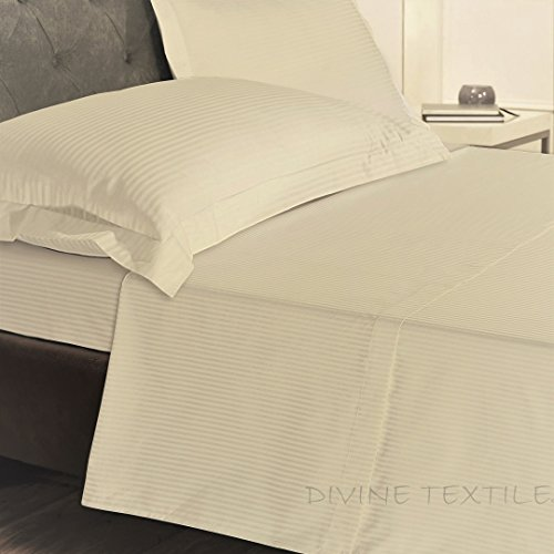 Divine textiel, hoeslaken, extratief, 32 cm, aantal draden 800, 100% natuurlijk Egyptisch katoen, hotelkwaliteit