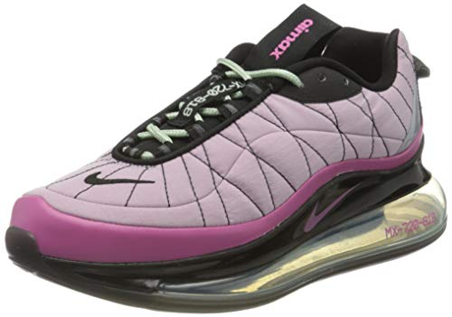 Nike W Mx-720-818, Zapatillas para Correr Mujer, Iced Lilac/Cosmic Fuchsia-Black, 36 EU
