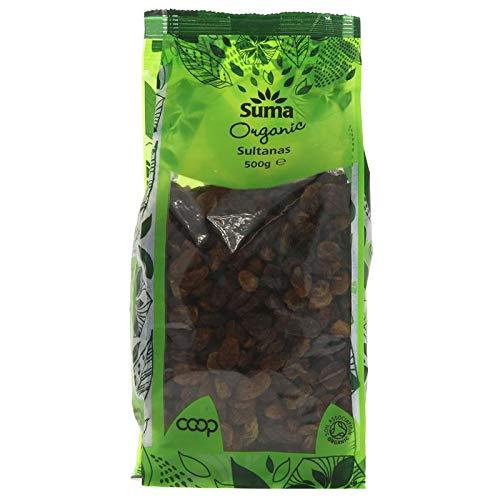 Suma Prepacks - Organic | Sultanas - organic | 2 x 500g