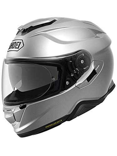 Shoei Casco Moto Gt Air 2 Plain Light Plata (Helmet S, Light Plata)