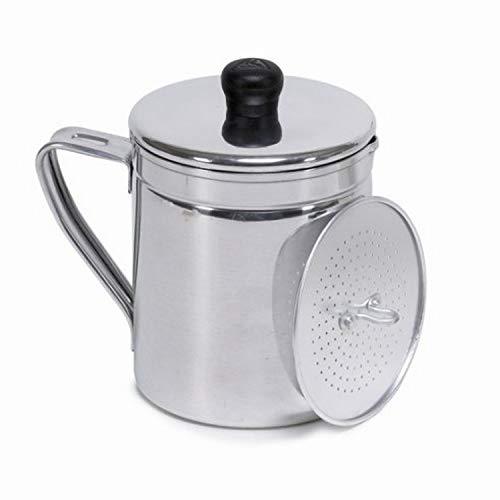 IMUSA USA A004-70011W 1.5 Quart Aluminum Grease Dispenser, Silver