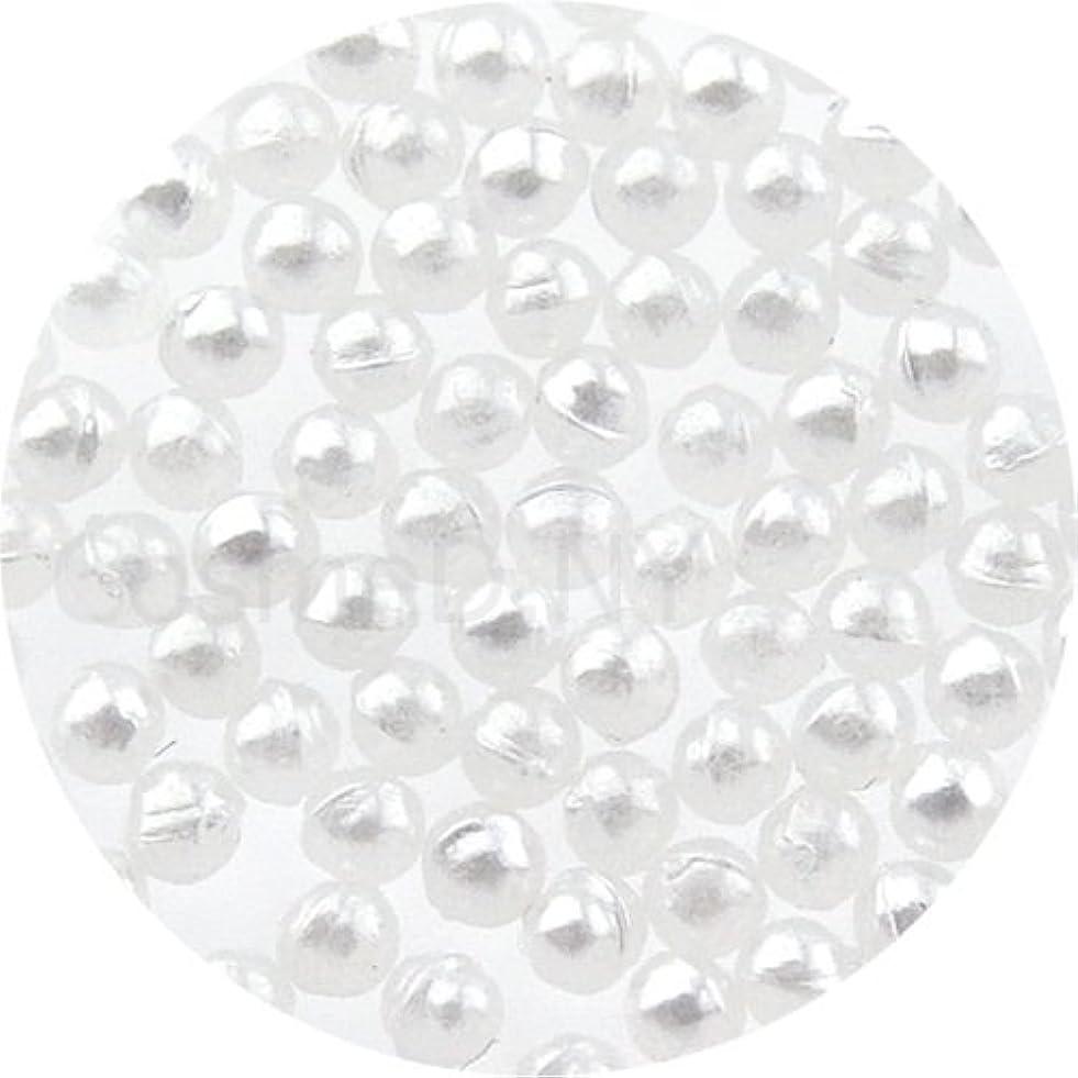 ピストンナプキン強化するパールストーン球1.5mmホワイト
