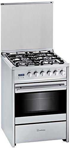 Meireles G 610 - Cocina (Independiente, Acero inoxidable, Giratorio, 51L, 2750W, propano/butano)
