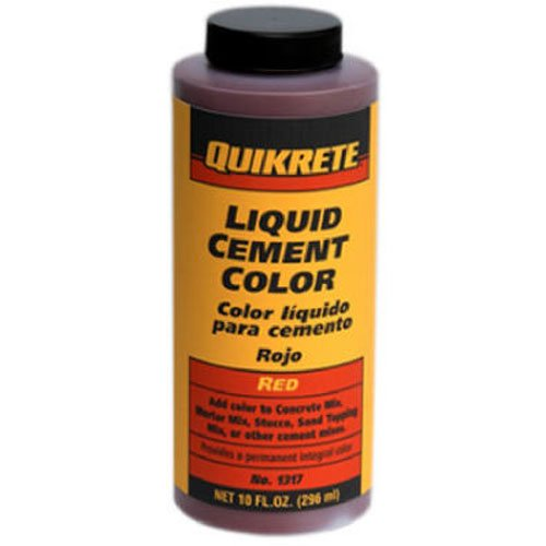 Quikrete 13173 Liquid Cement Color, Red, NET 10 FL. OZ.(296 mL)'