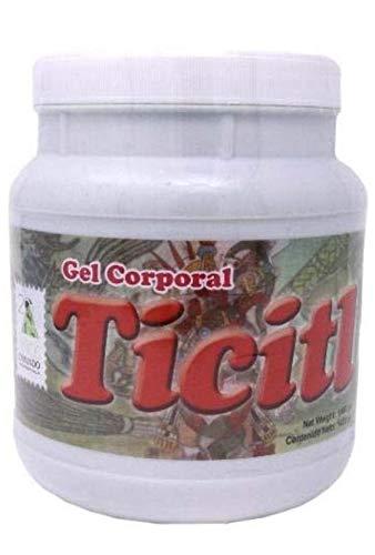 Gel Corporal TICITL 100% Original Formula Cremosa Y Extra Fuerte Esguinces, Dolor De Espalda, Dolores Musculares, Reumatismo, Golpes, Contuciones, Inflamacion, Artritis Reumatoide.
