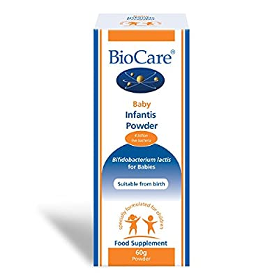 BioCare Baby Infantis Powder (Probiotic) 60g - 4 billion live bacteria per daily dose from Biocare
