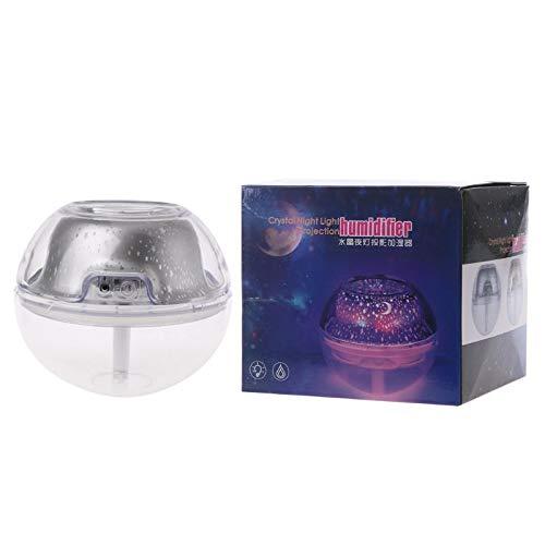 Ycncixwd 500 ML Mini Star Projection Umidificatore Diffusore Purifie Deumidificatore a LED lampada