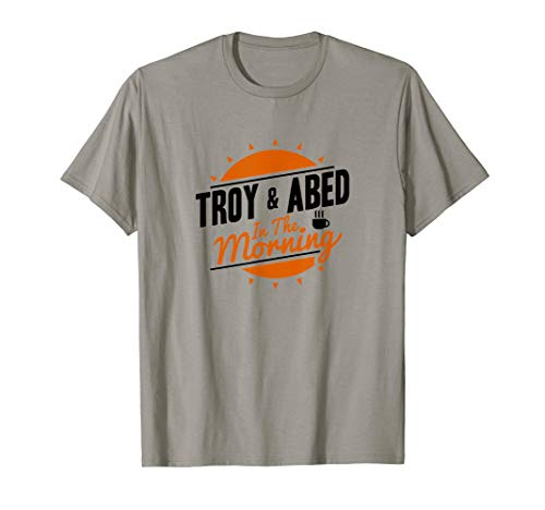 Community Simple Troy & Abed In The Morning Logo T-Shirt