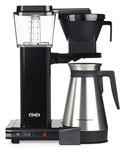 Moccamaster Filter Kaffeemaschine KBGT Thermos, 1.25 Liter, 1450 W, Black