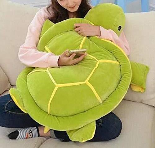 Neue Daunen Gefüllte Schildkröte Plüschtier 28 cm 40 cm 50 cm 65 cm Grünes Kissen Kissen Geburtstag 1-28 cm_Light_Green