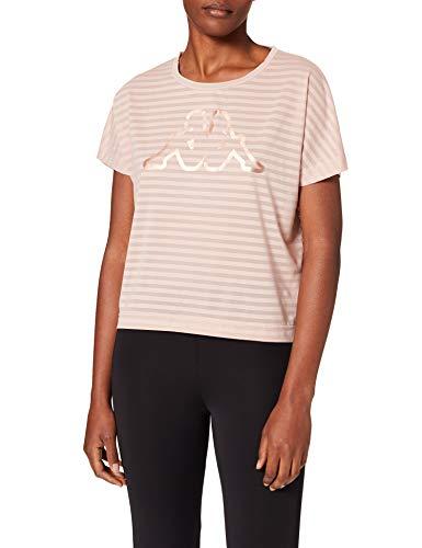 Kappa LOGO YAMILU Camiseta, Mujer, Rosa, L