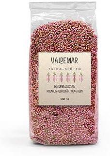 Valdemar Manufaktur essbare Premium ERIKA-Blüten, 500ml Heidekraut - HANDVERPACKT In Deutschland