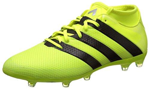 adidas Ace 16.2 Prime, Scarpe da Calcio Uomo, Multicolore (Mesh Syello/Cblack/Silvmt), 42 2/3 EU