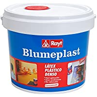 Rayt 157-23 Blumeplast M-20: Látex plástico denso, sellador de superficies de yeso, cemento, estuco, madera, e impermeabilizante para manualidades. Secado transparente, 5kg