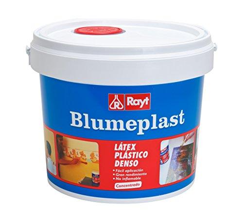 Rayt 157-23 Blumeplast M-20: Látex plástico denso, sellador de Superficies de Yeso, Cemento, estuco, Madera, y sellante para Manualidades. Secado Transparente. 5 kg, 5kg