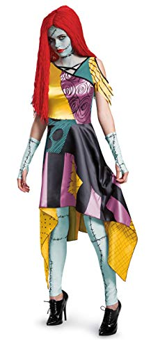 Disguise womens Sally Prestige Adult Sized Costume, Multi, Large US