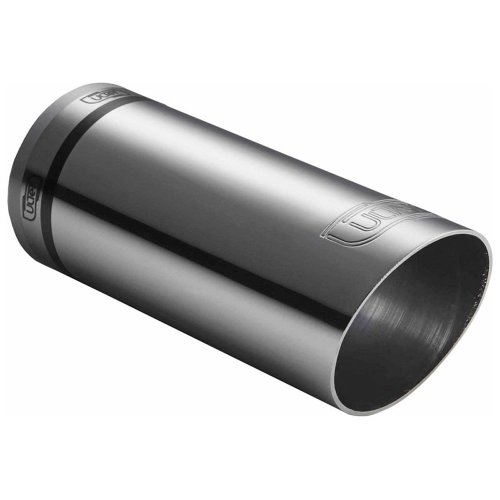 Ulter Sport NX04 runde Auspuffblende aus Edelstahl, 60mm Durchmesser, 150mm Länge