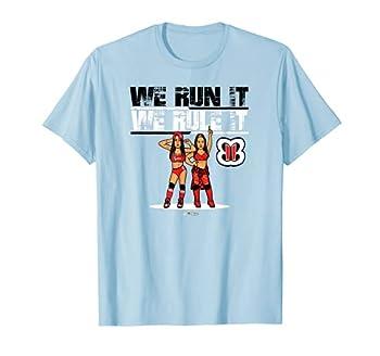WWE NERDS - The Bellas Run It Rule It T-Shirt