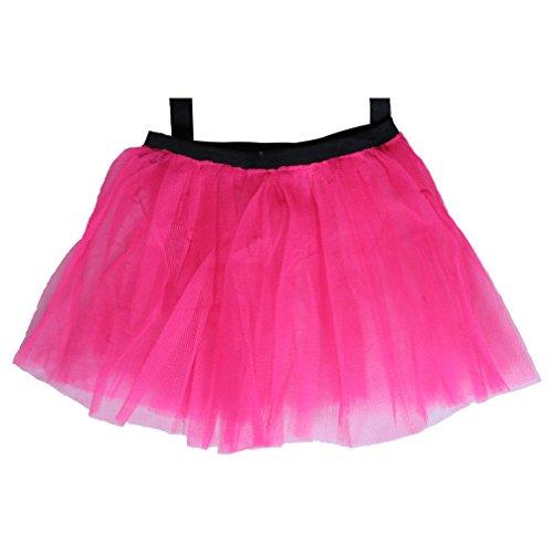 Neon Pink 80's Tutu Skirt