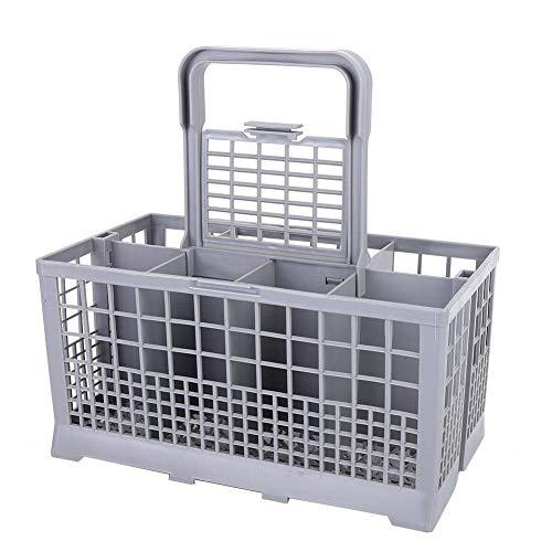 Cesta para lavavajillas, utensilios de cocina, cesta universal para cubiertos, caja de almacenamiento, vajilla para lavavajillas, para Beko Indiset Zanussi, etc.