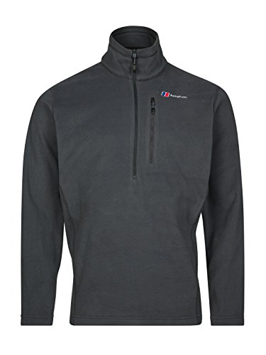 Photo of Berghaus Men's Prism Micro PolarTec HalfZip Fleece Jacket, Carbon, XL