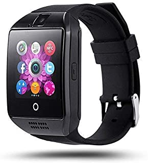 SYUM Smart Watch Q18 Bluetooth Smartwatch, Android Smartwatch with Camera/SIM Card Slot Sports Watch Compatible with Smart...
