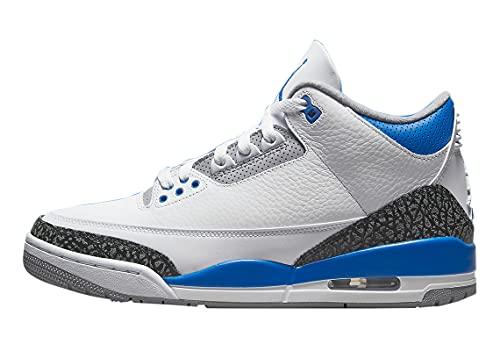 Jordan Mens Air Jordan 3 Retro CT8532 145 Racer Blue - Size 9.5