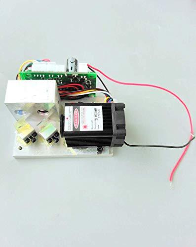 450nm / 658nm / 532nm RGB Rojo/Verde / Azul/Reflect Blanco 400-500mw Mini Laser Module w / 12V TTL & Fan Cooling & Driver out