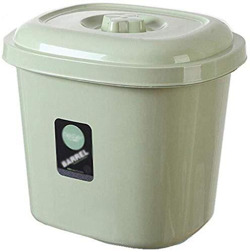 GYJ Rice Box Plastic rijstemmer keuken verzegeld insectendichte rijst cilinder meel emmer rijst bewaardoos vochtbestendig